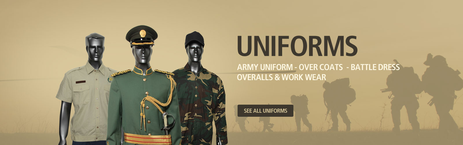 Army Uniforms India