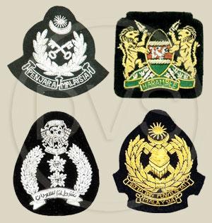 Hand Embroidered Badges | Military Badges | Pocket Badges